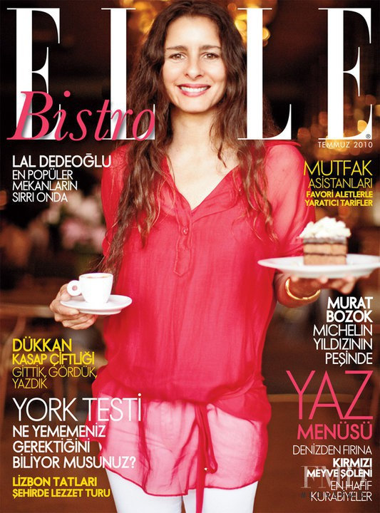 featured on the Elle Sweden cover from July 2010