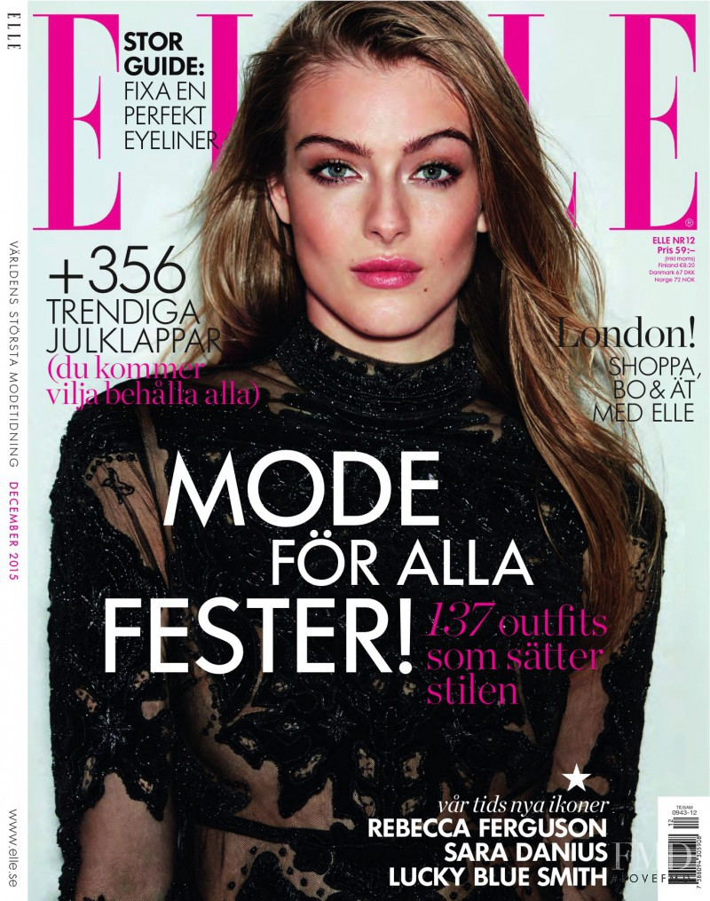 featured on the Elle Sweden cover from December 2015