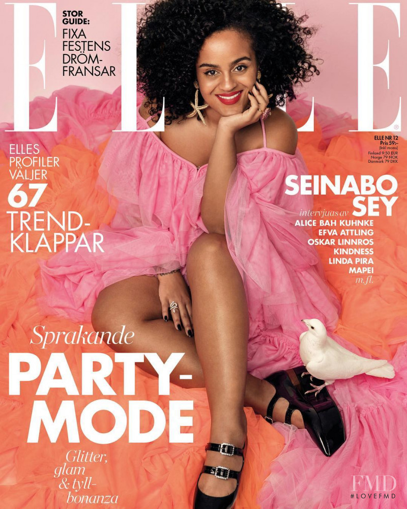featured on the Elle Sweden cover from December 2018