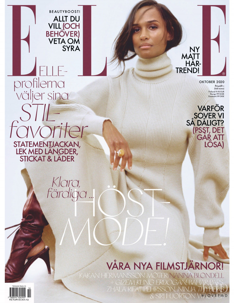 featured on the Elle Sweden cover from October 2020