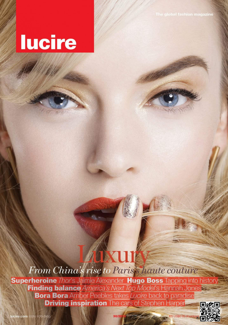 featured on the Lucire New Zealand cover from June 2013