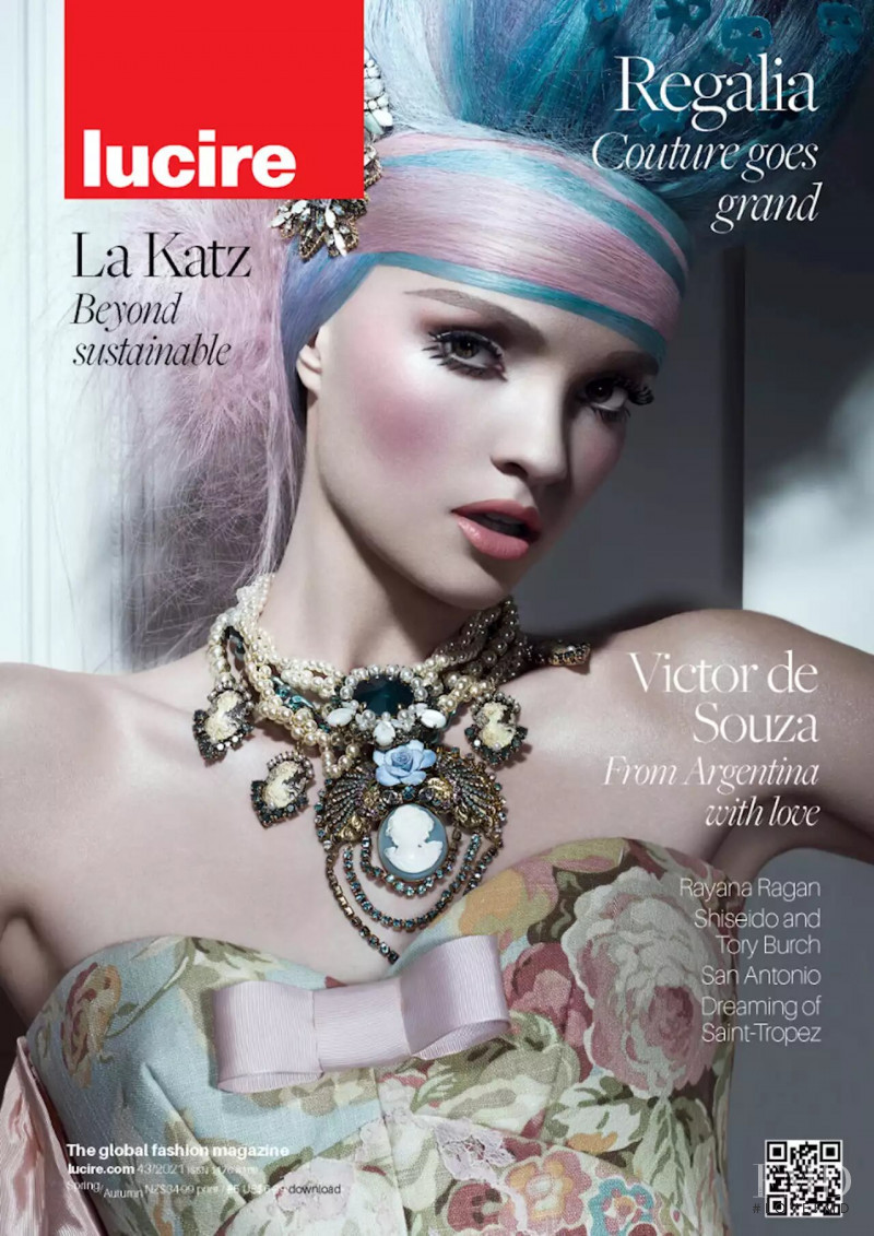 Elena Sartison featured on the Lucire New Zealand cover from May 2021
