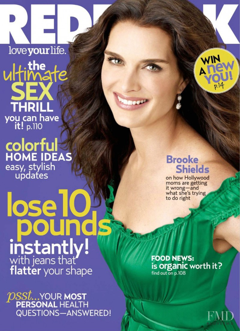 Brooke Schields featured on the Redbook cover from September 2007