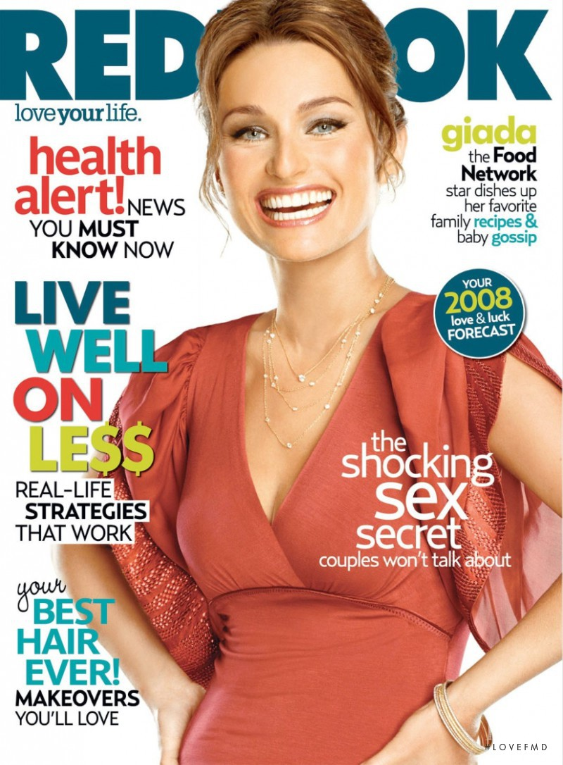 featured on the Redbook cover from January 2008