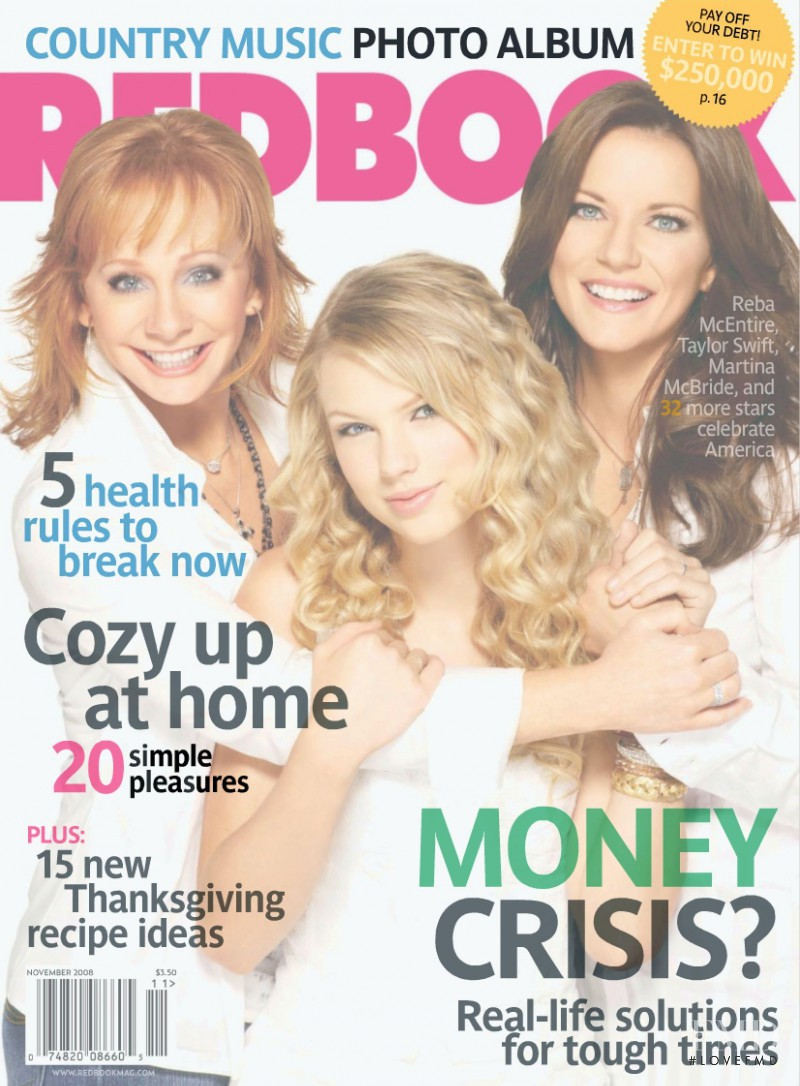 featured on the Redbook cover from November 2008