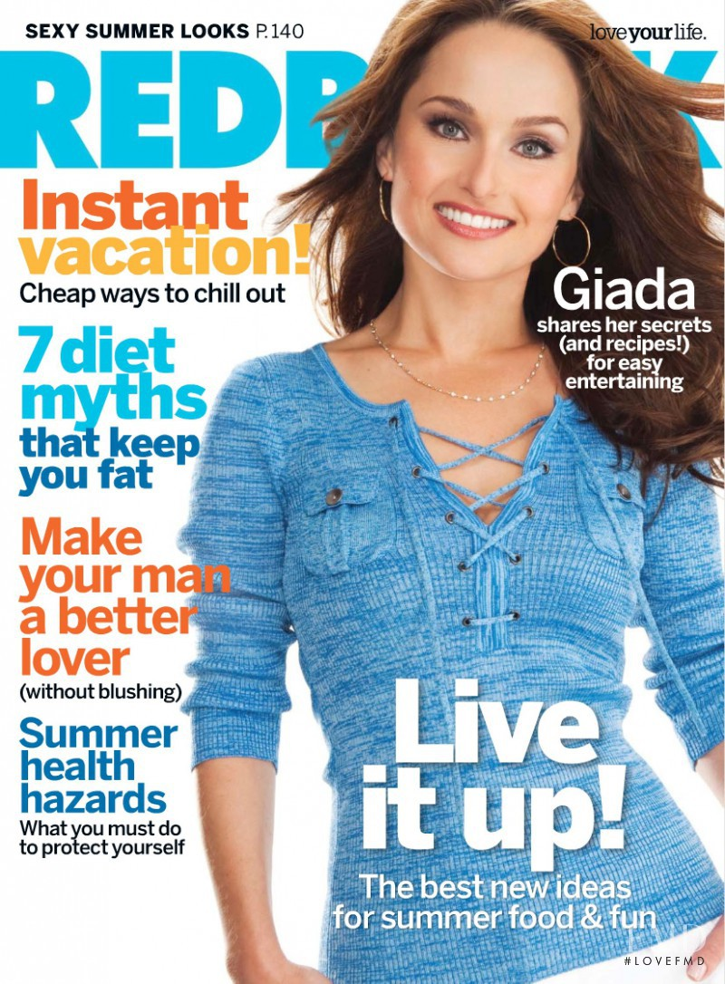 featured on the Redbook cover from June 2009