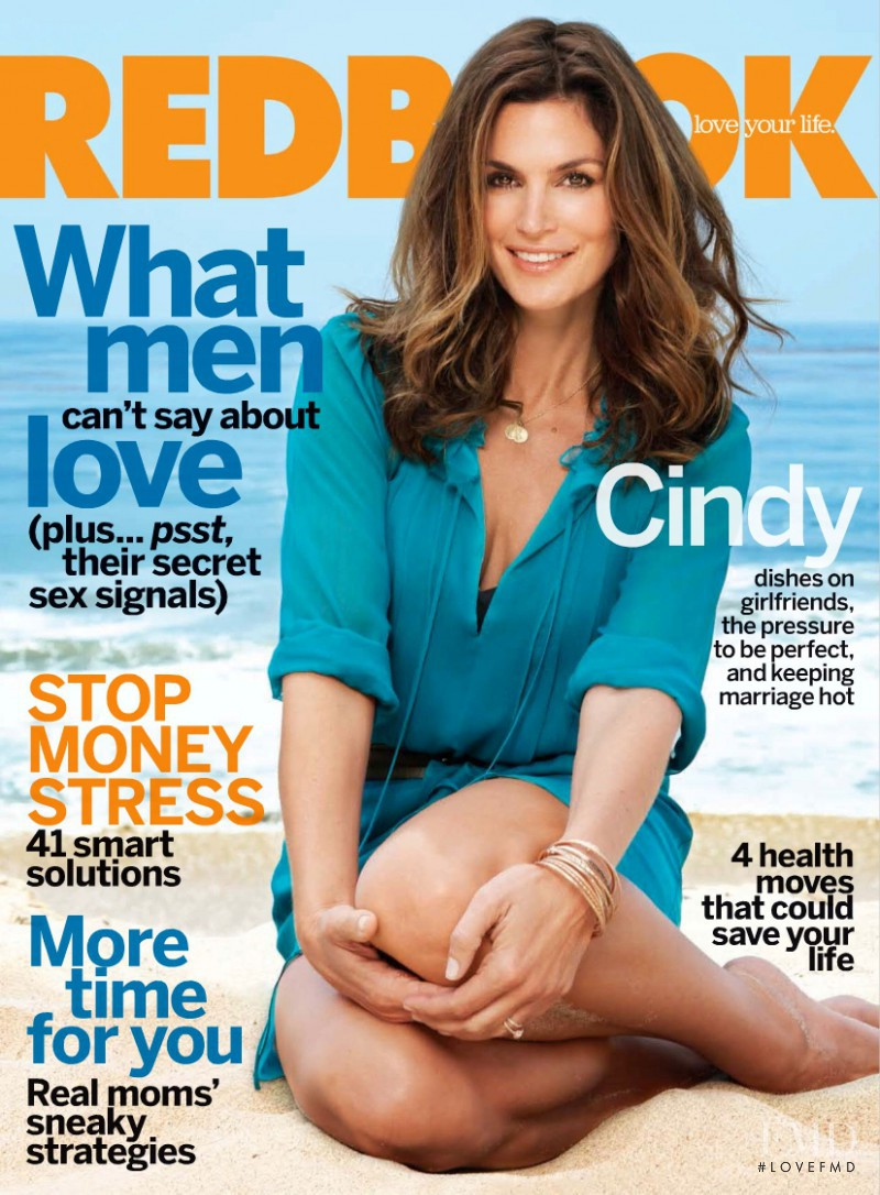 Cindy Crawford featured on the Redbook cover from September 2009