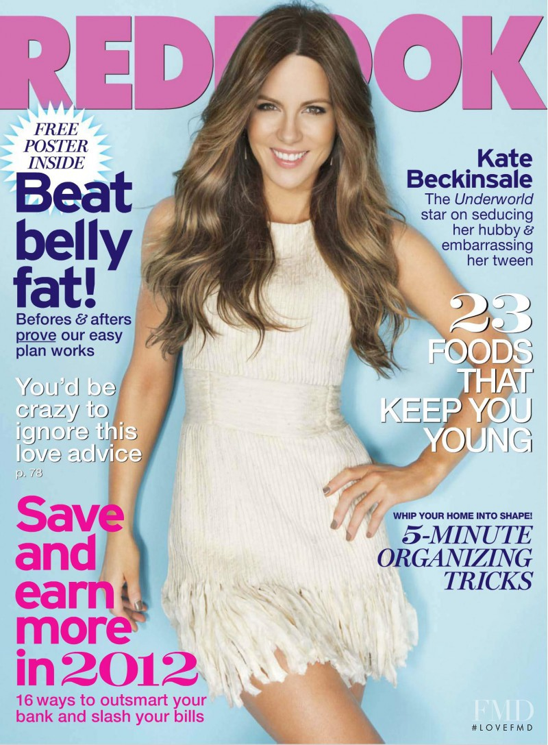 Kate Beckinsale featured on the Redbook cover from January 2012