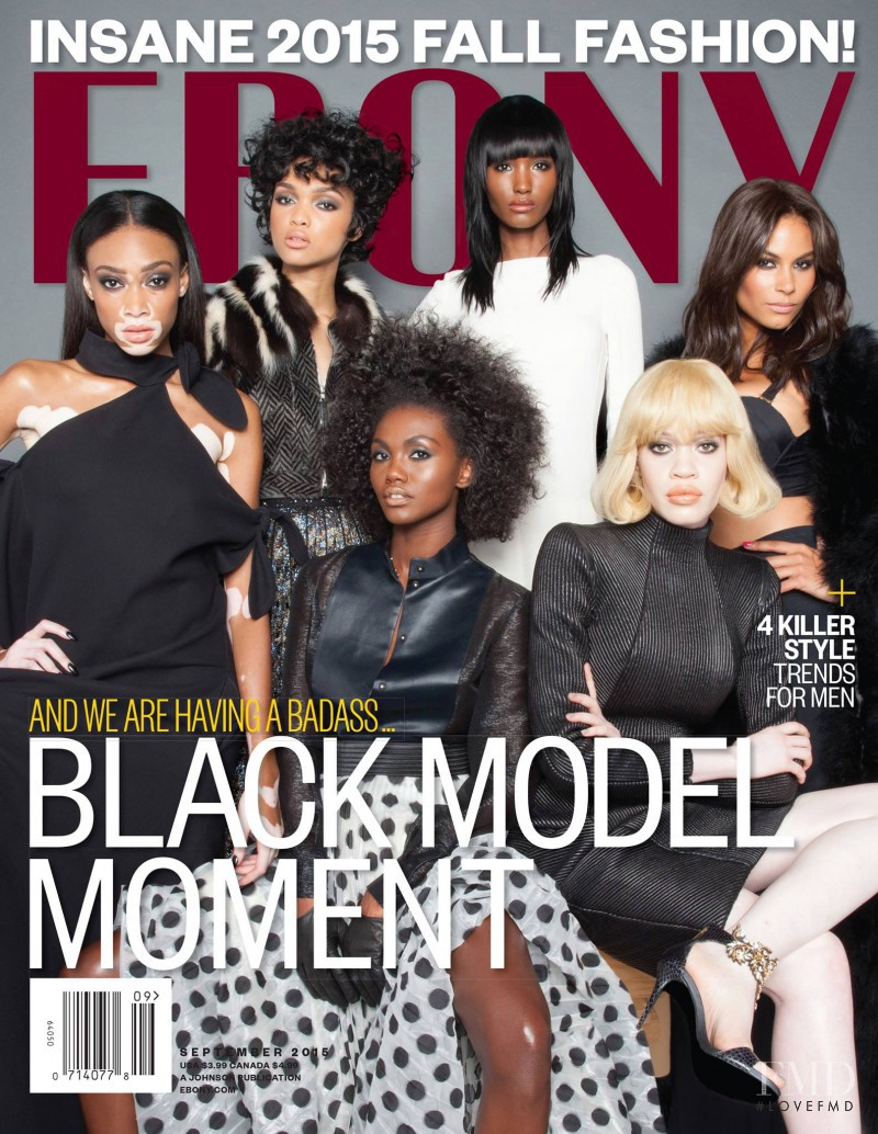 Milan Dixon featured on the Ebony cover from September 2015