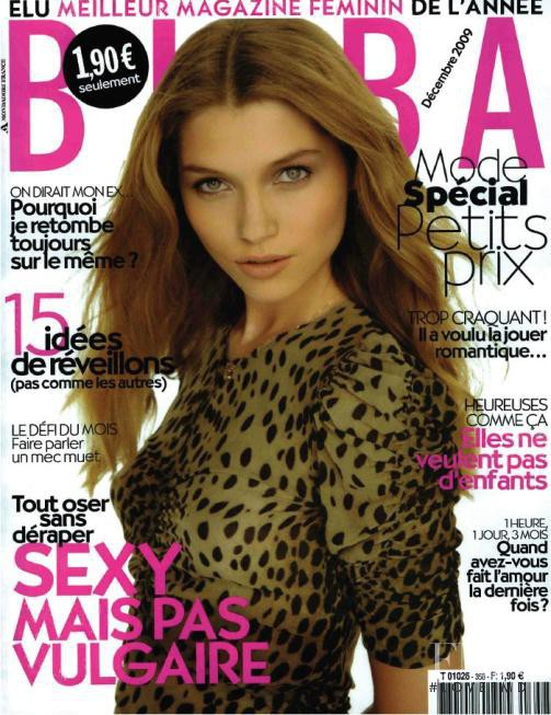 Hana Jirickova featured on the BIBA cover from December 2009