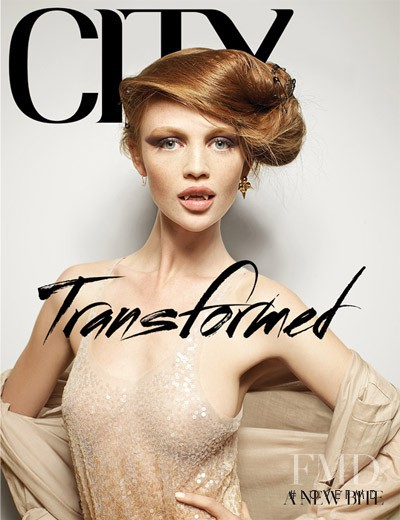 Cintia Dicker featured on the CITY cover from May 2009