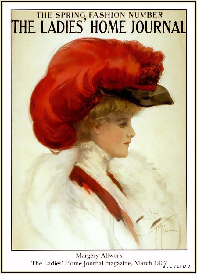 featured on the Cosmopolitan USA cover from March 1907