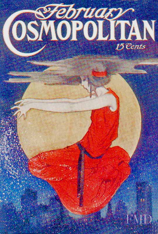 featured on the Cosmopolitan USA cover from February 1909