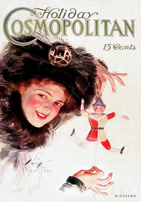 featured on the Cosmopolitan USA cover from July 1910