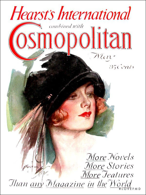 featured on the Cosmopolitan USA cover from May 1925