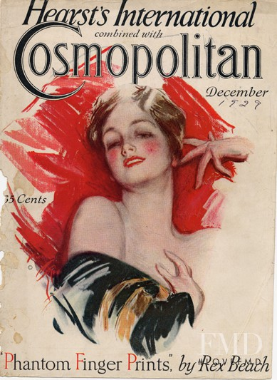 featured on the Cosmopolitan USA cover from December 1929