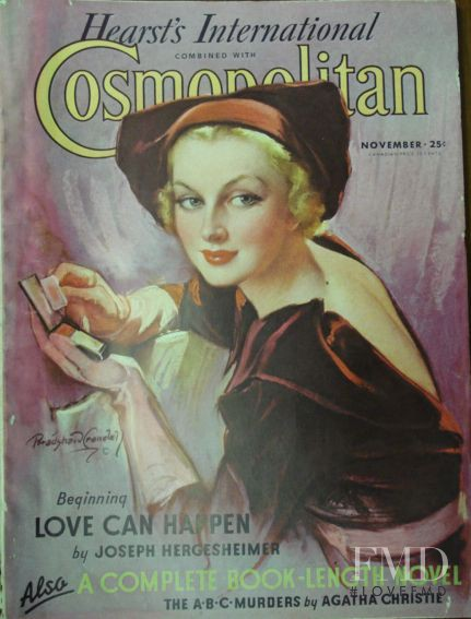 featured on the Cosmopolitan USA cover from November 1935