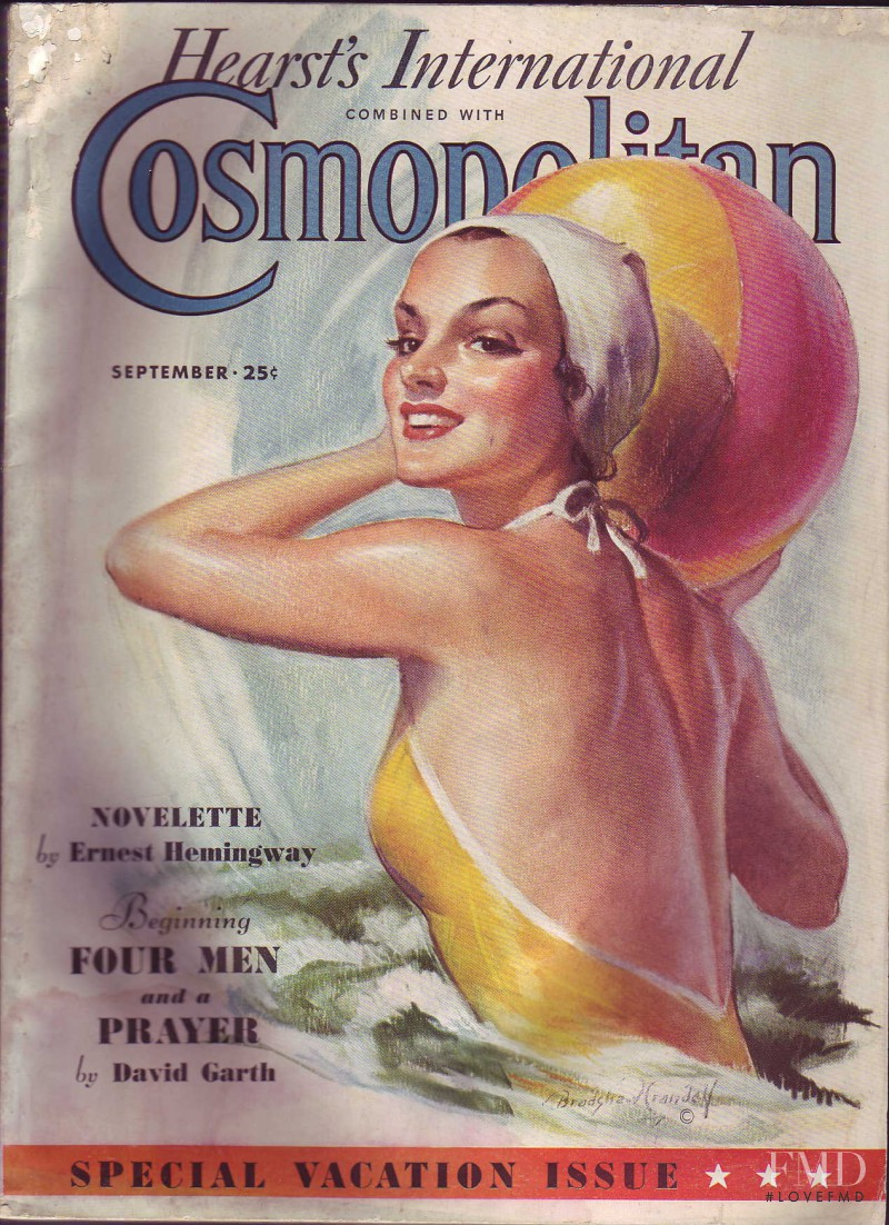 featured on the Cosmopolitan USA cover from September 1936