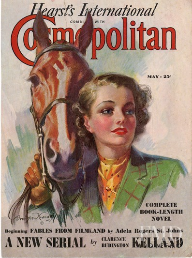 featured on the Cosmopolitan USA cover from May 1937