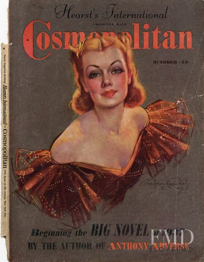 featured on the Cosmopolitan USA cover from October 1937