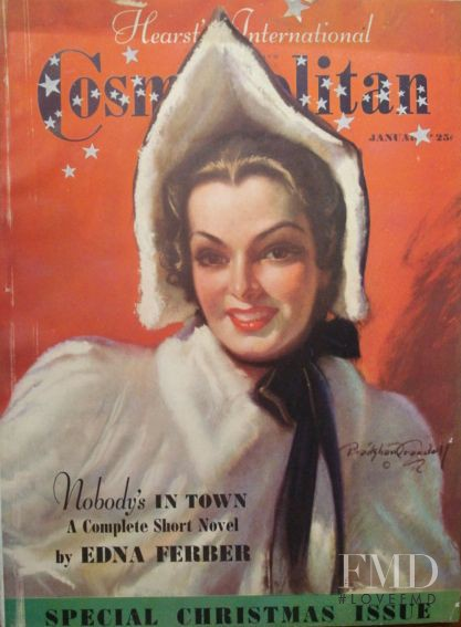 featured on the Cosmopolitan USA cover from January 1938