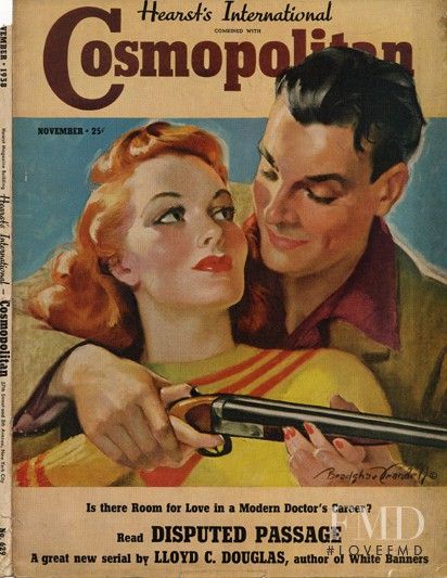featured on the Cosmopolitan USA cover from November 1938