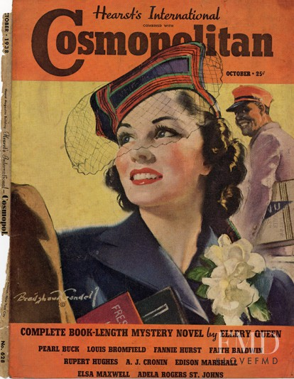 featured on the Cosmopolitan USA cover from October 1938