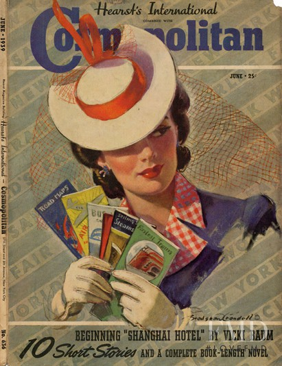 featured on the Cosmopolitan USA cover from June 1939