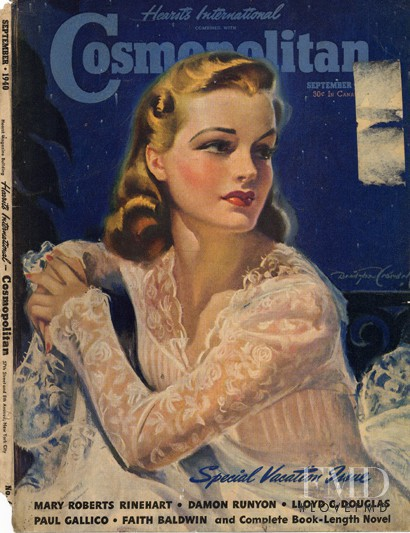 featured on the Cosmopolitan USA cover from September 1940