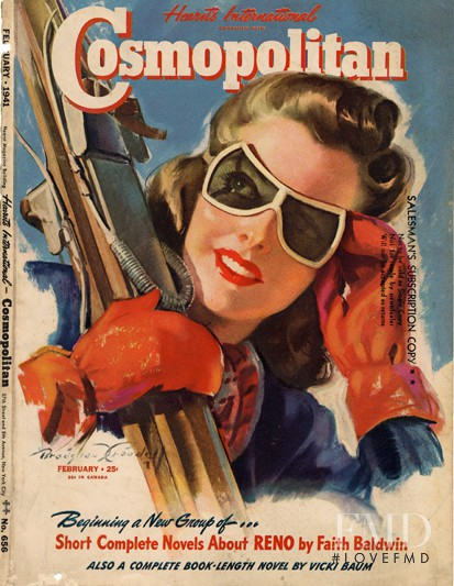 featured on the Cosmopolitan USA cover from February 1941