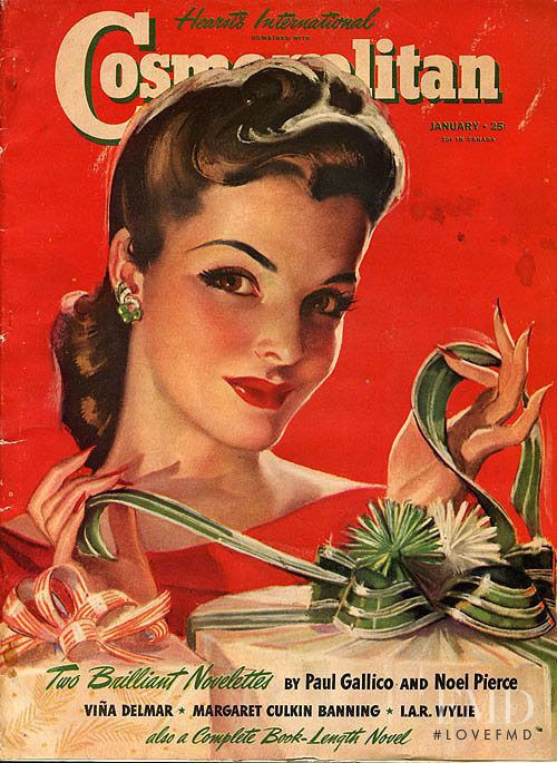 featured on the Cosmopolitan USA cover from January 1941