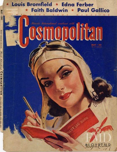 featured on the Cosmopolitan USA cover from May 1941