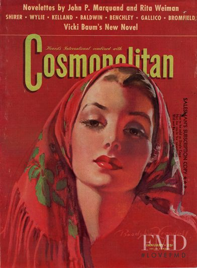featured on the Cosmopolitan USA cover from January 1942