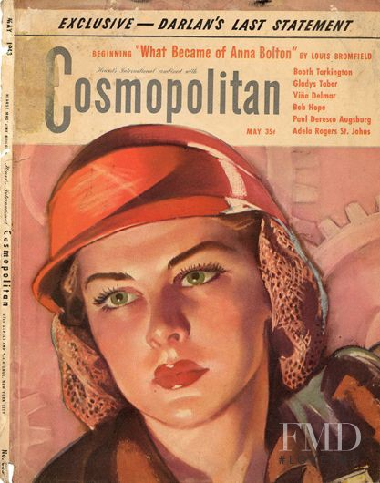 featured on the Cosmopolitan USA cover from May 1943