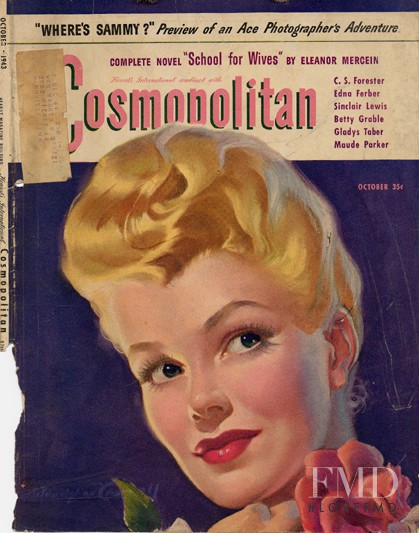 featured on the Cosmopolitan USA cover from October 1943