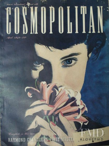 featured on the Cosmopolitan USA cover from April 1949