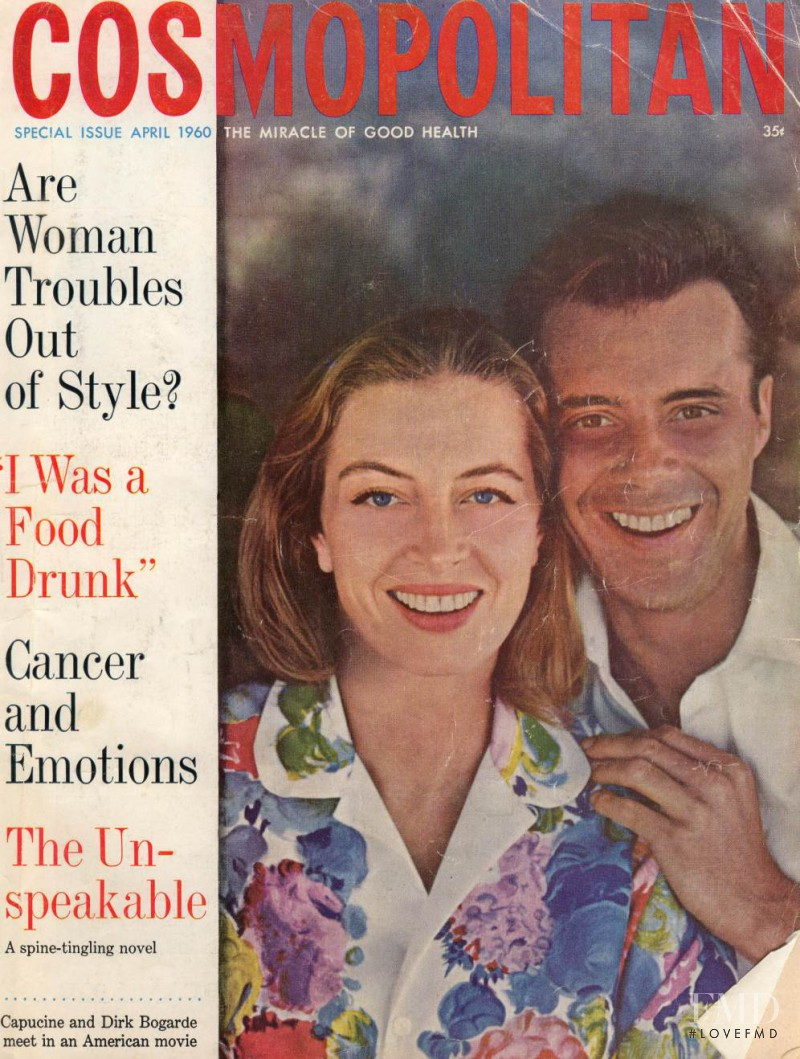 featured on the Cosmopolitan USA cover from April 1960