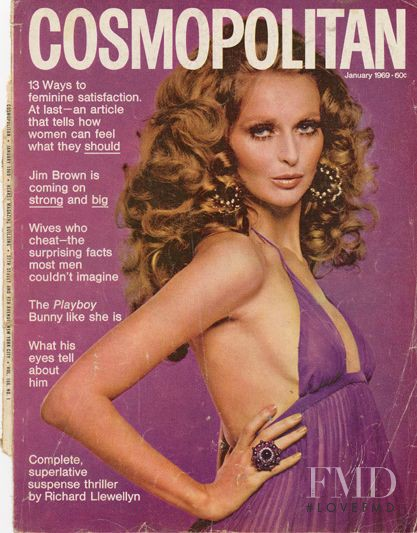 featured on the Cosmopolitan USA cover from January 1960