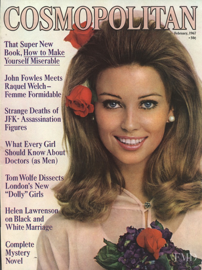 featured on the Cosmopolitan USA cover from February 1967