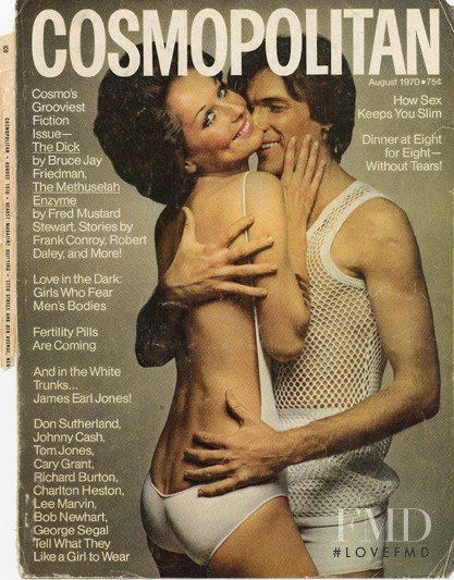 featured on the Cosmopolitan USA cover from August 1970