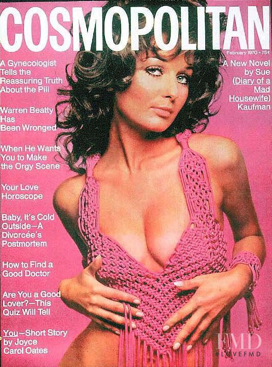 featured on the Cosmopolitan USA cover from February 1970