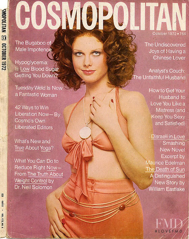 featured on the Cosmopolitan USA cover from October 1972