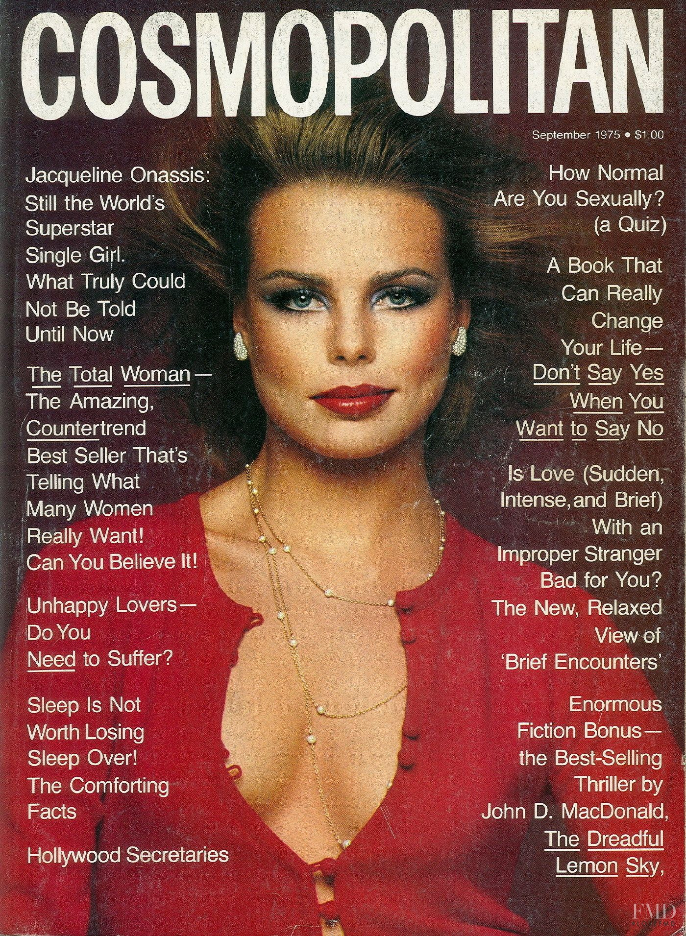 Model Magazines List: Cover Of Cosmopolitan USA With Margaux Hemingway