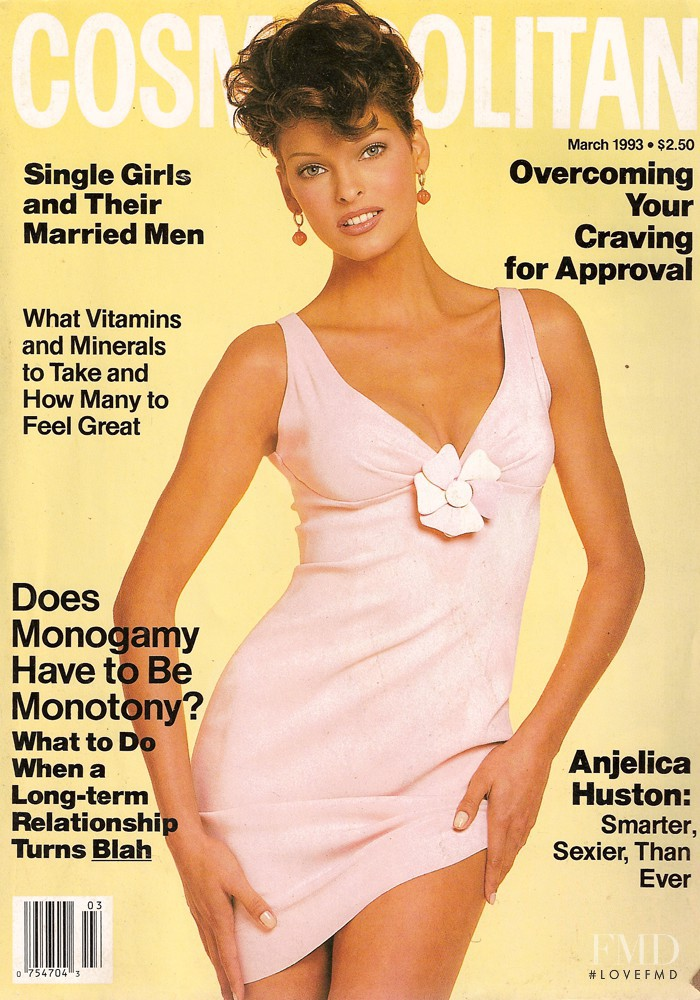 featured on the Cosmopolitan USA cover from March 1993