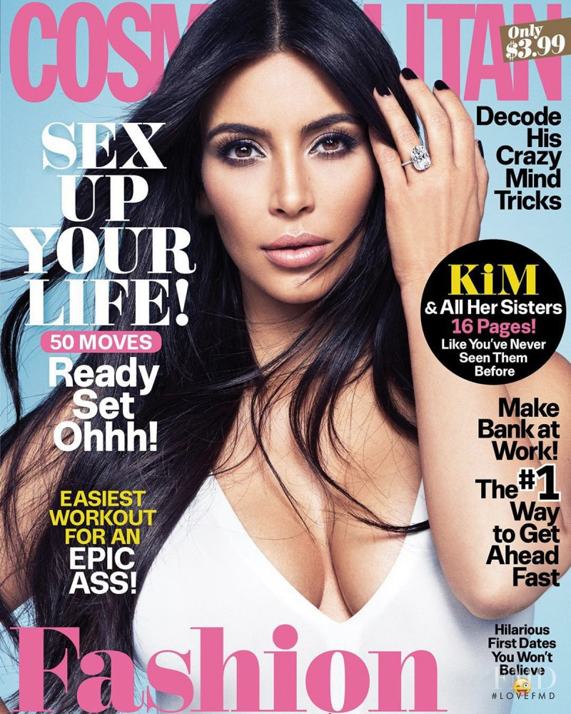 featured on the Cosmopolitan USA cover from November 2015