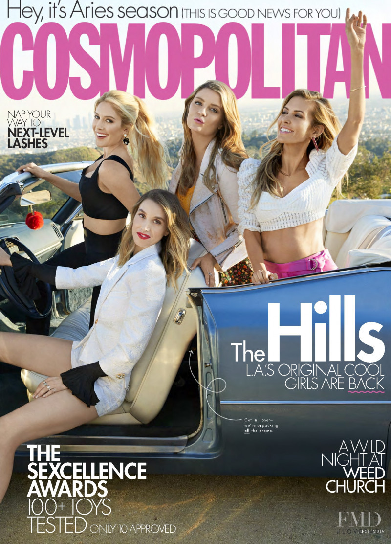 featured on the Cosmopolitan USA cover from April 2019