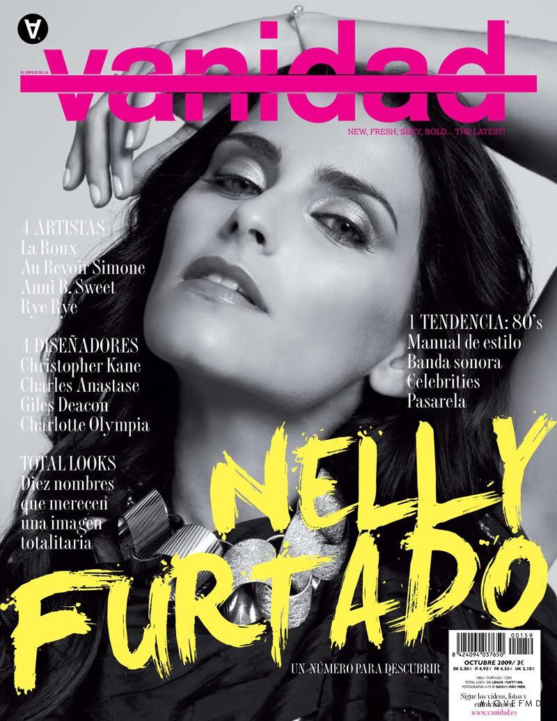 Cover of vanidad with Nelly Furtado, October 2009 (ID:14436 .