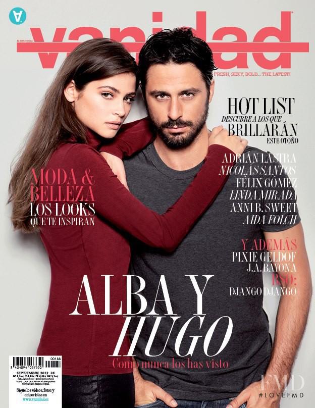 Hugo Silva, Alba Galocha featured on the vanidad cover from September 2012