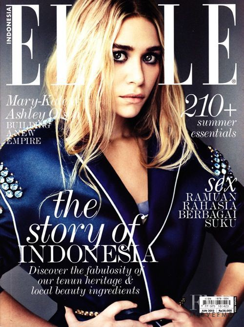 Mary-Kate Ashley Olsen featured on the Elle Indonesia cover from June 2012 507255aa99