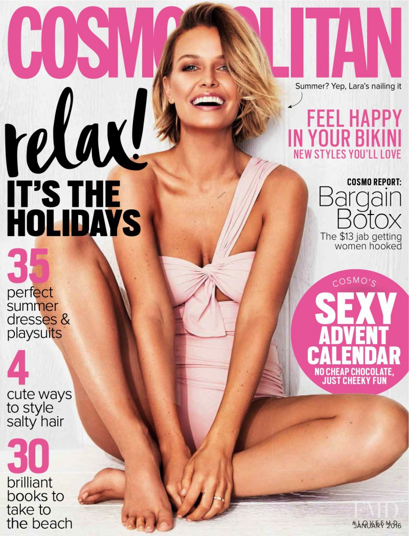 featured on the Cosmopolitan Australia cover from January 2016